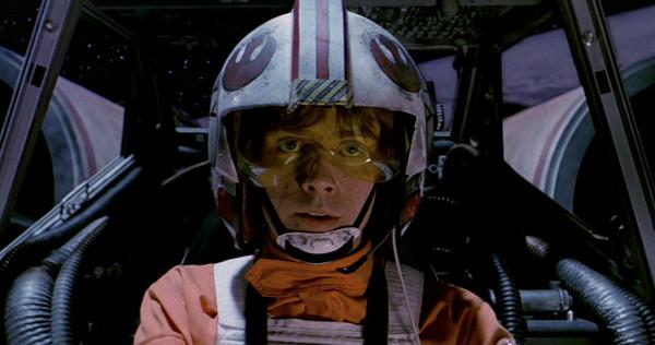 Luke in X Wing