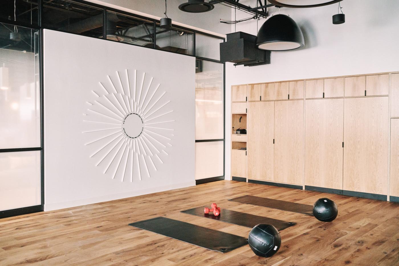 Lululemon Chicago fitness studio