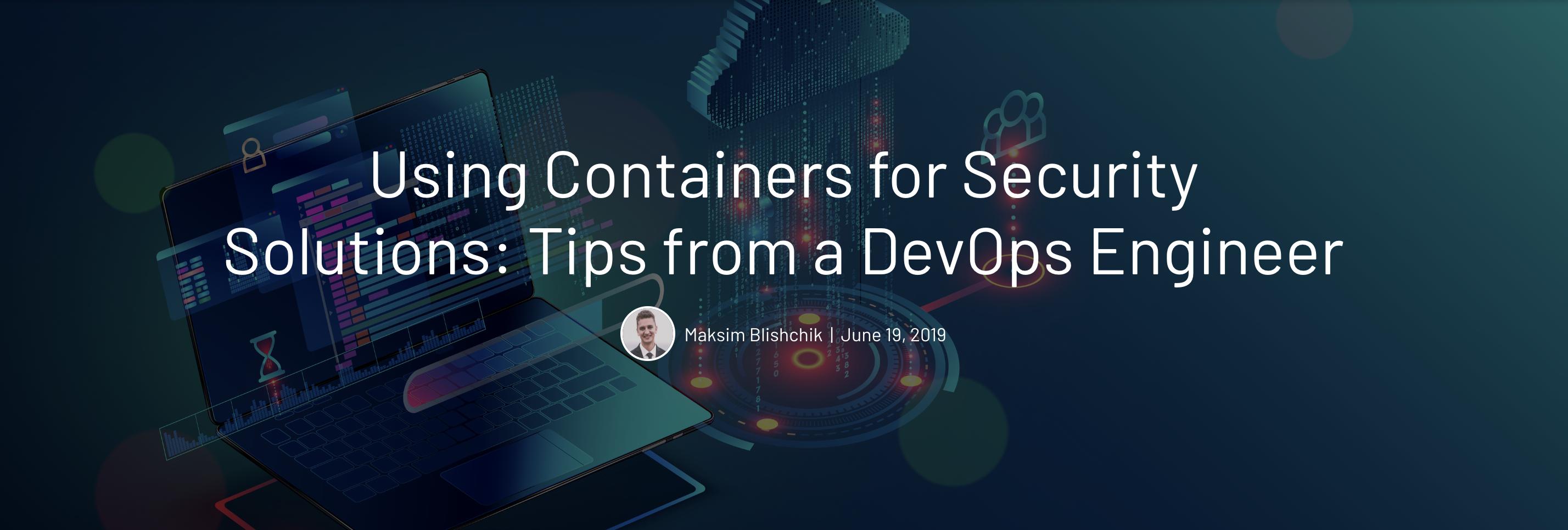 DevOps Security Solutions