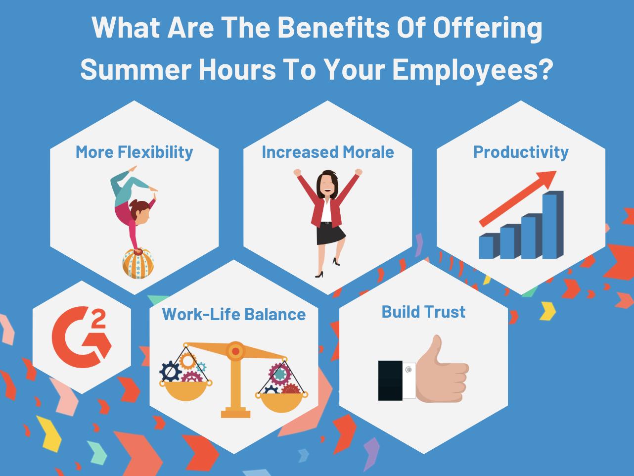 benefits of summer hours