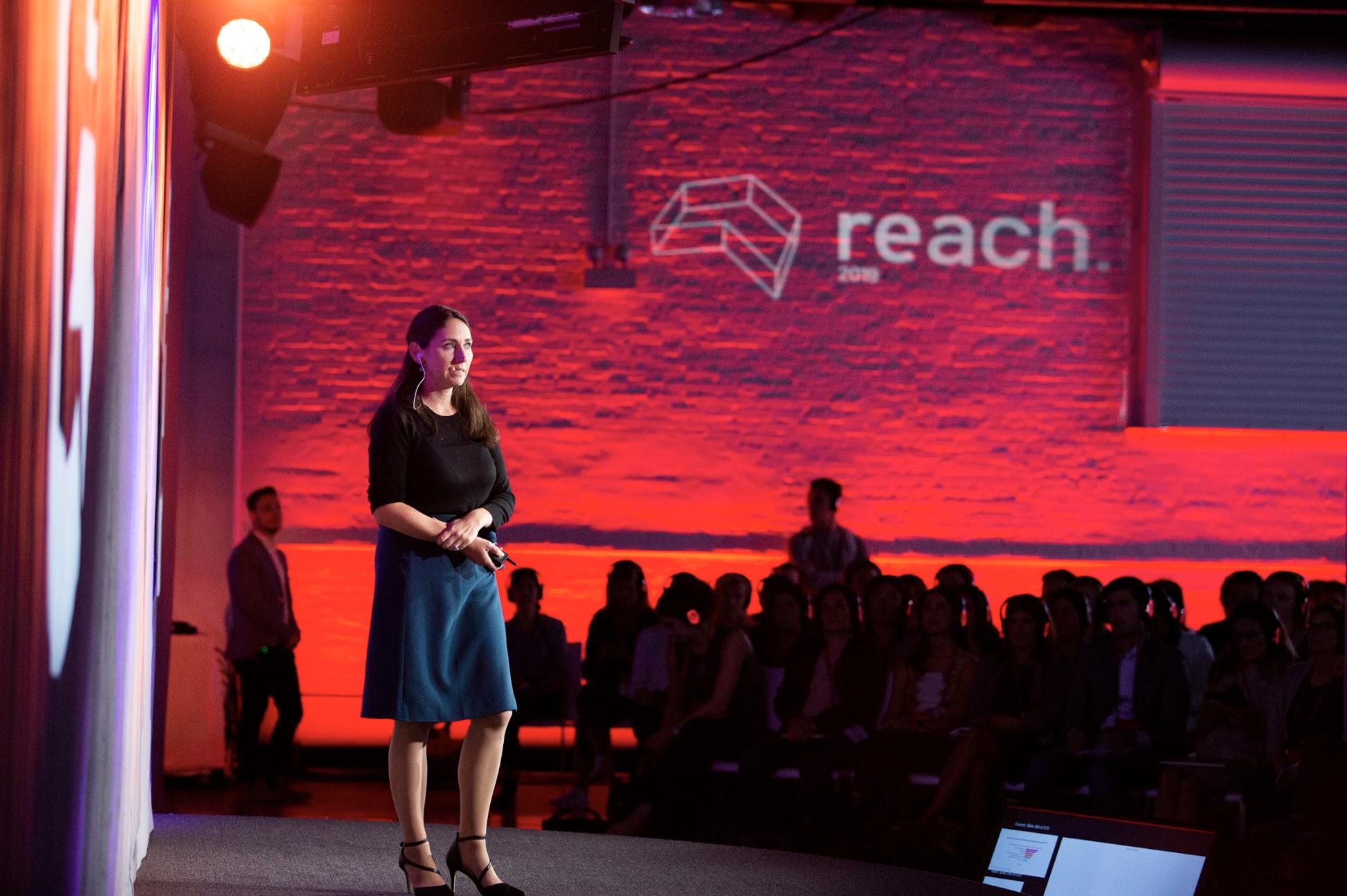 Meghan Keaney Anderson speaks at G2REACH