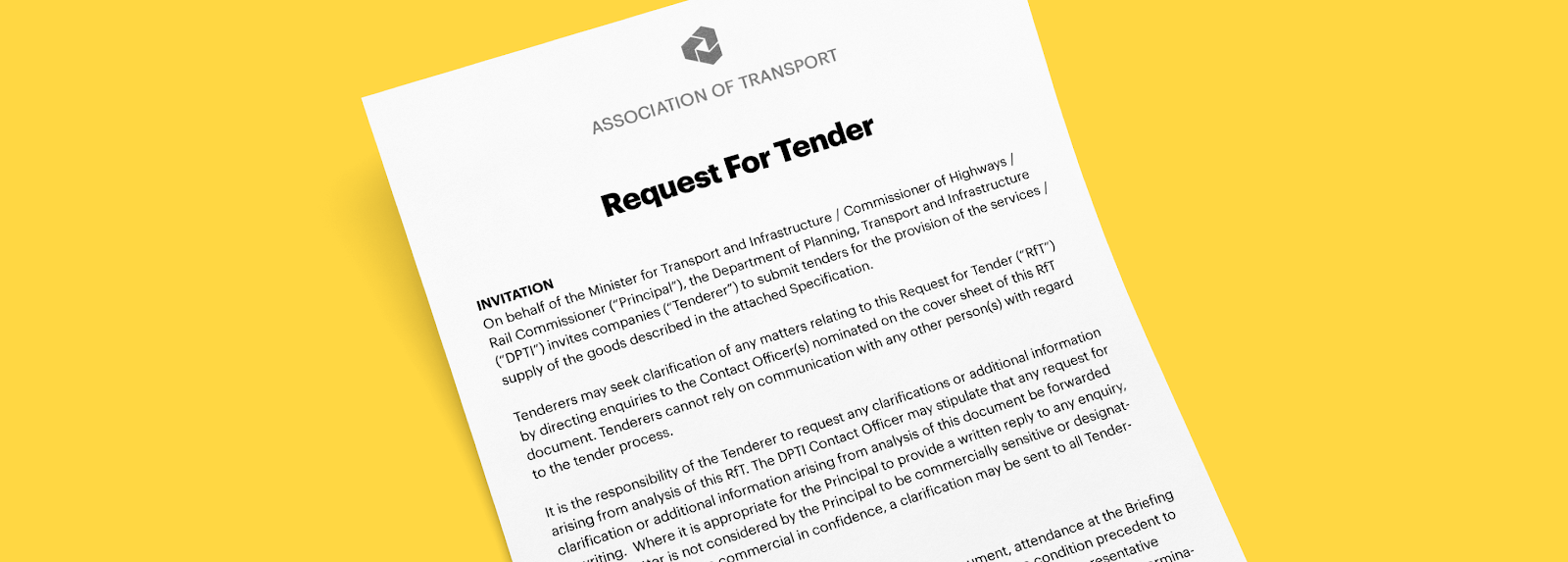 What Is a Request for Tender? (+Examples, Templates, and Best Practices)