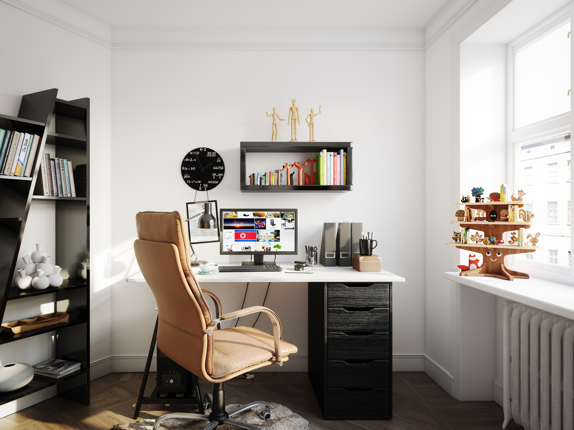 decorate home office