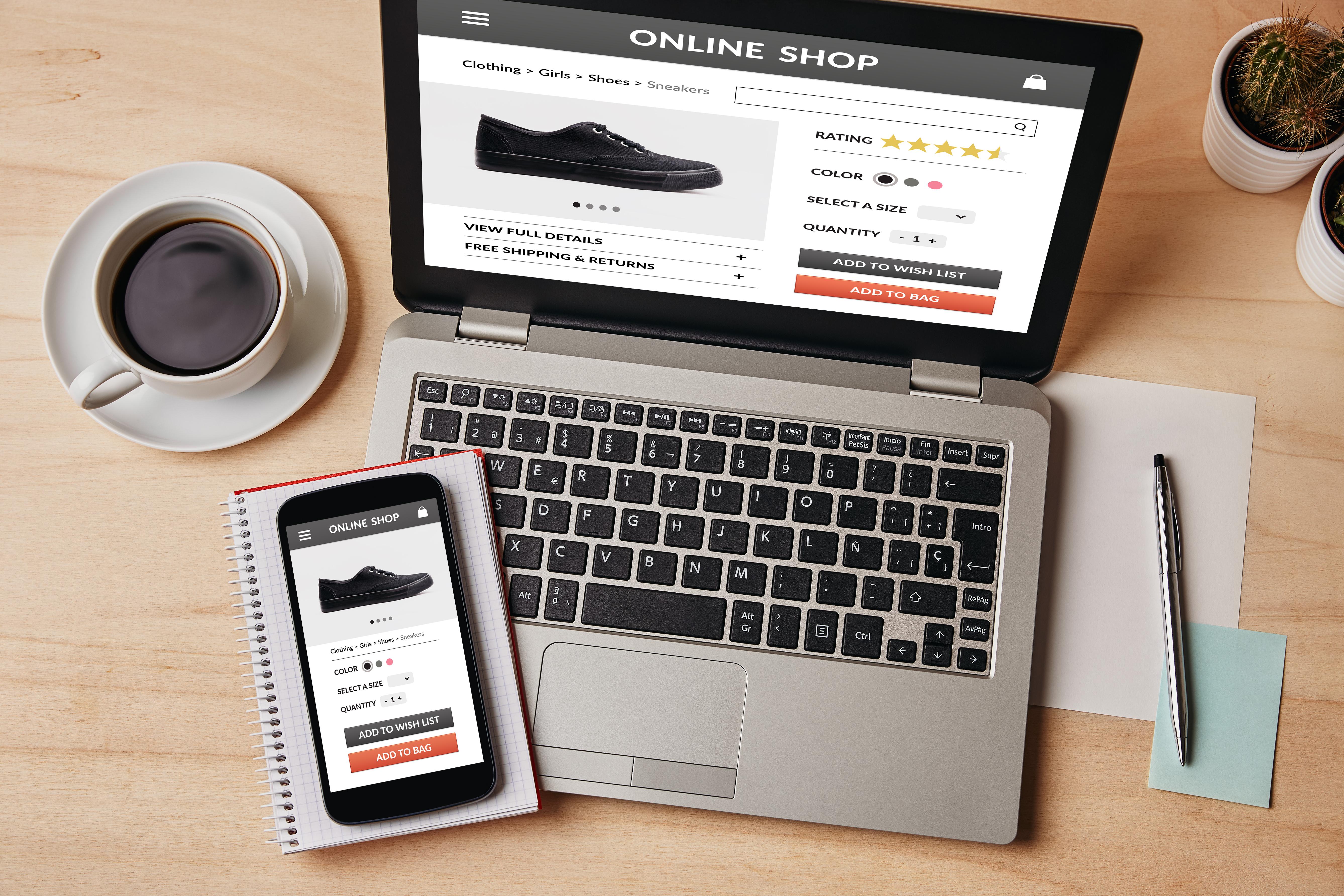 ecommerce marketing computer image