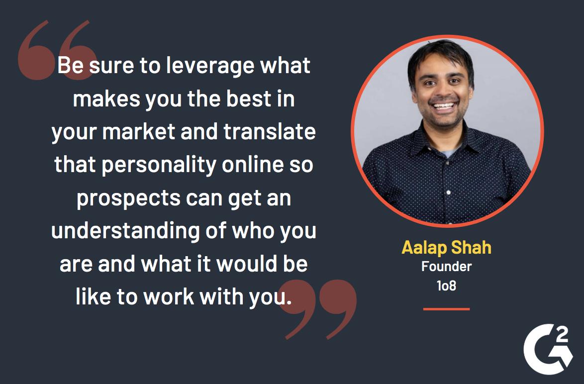 aalap shah social media quote